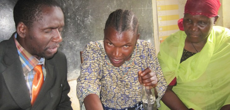 Blind persons livelihood project in Tanzania. Foto: Vivian Alt