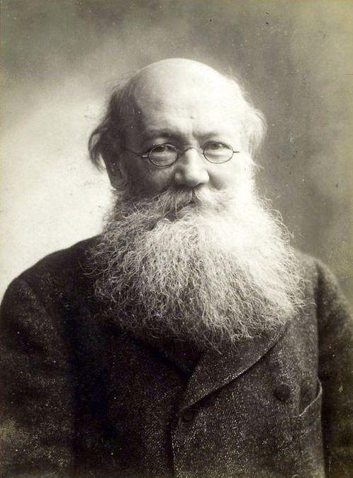 O ideólogo anarquista russo Pyotr Alexeyevich Kropotkin (Foto: Wikimedia Commons)