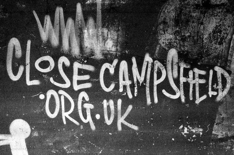 Campsfield é um dos centro de remoção de imigrantes do Reino Unido. Foto: Scott Billings / Creative Commons / Flickr