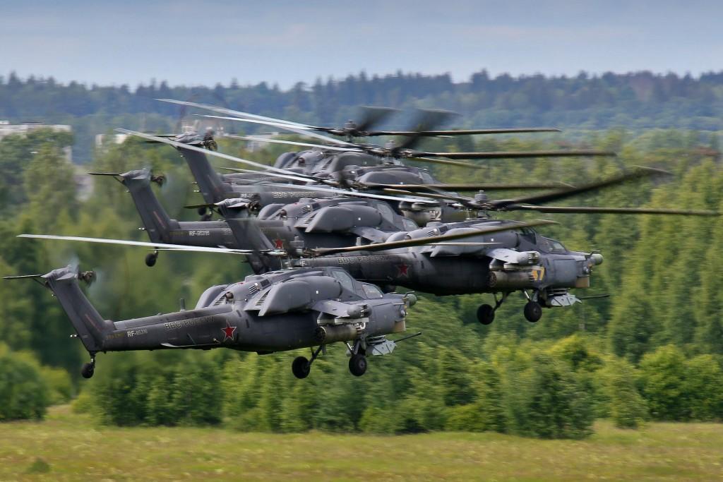 Helicópteros de fabricação russa. Foto: Dmitry Terekhov / Creative Commons / Flickr