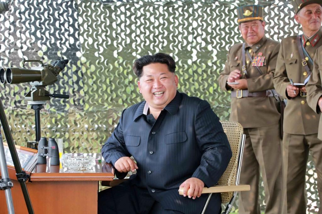 O ditador norte-coreano Kim Jong-un. Foto: AFP / KCNA VIA KNS